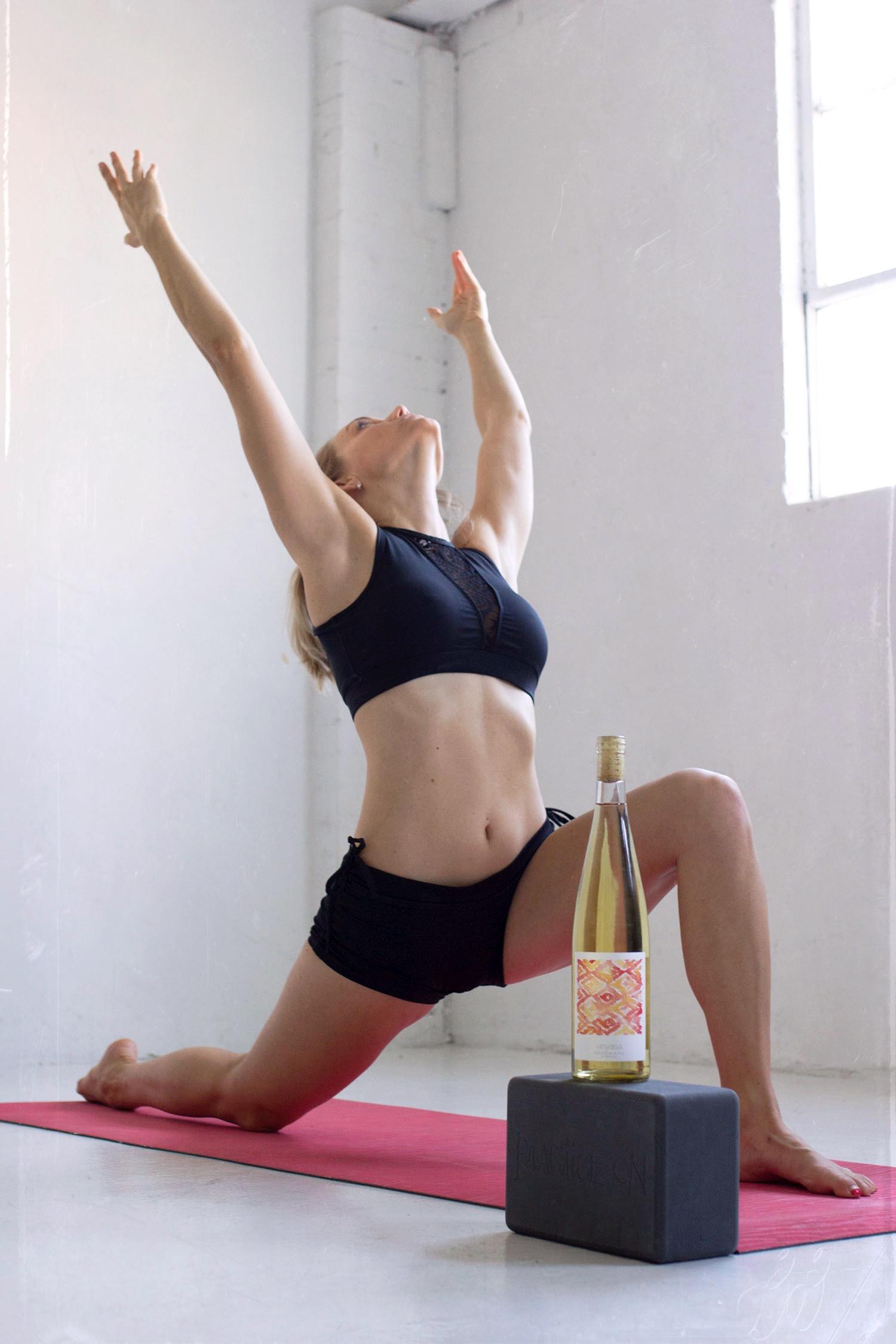 Anjaneyasana or yoga lunge pose
